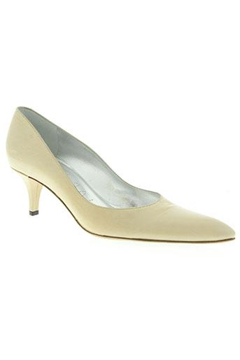 free lance chaussures femme de couleur beige