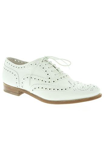 church's chaussures femme de couleur blanc