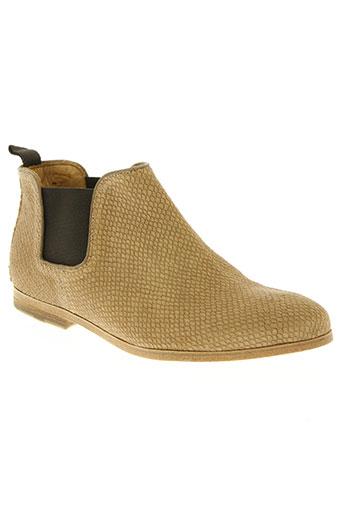 heschung chaussures femme de couleur beige
