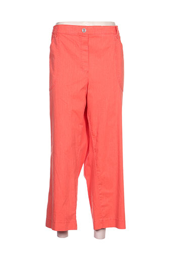 stark pantacourts femme de couleur orange
