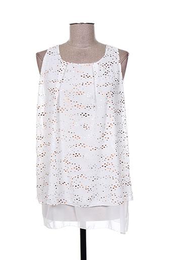 oltre tempo chemises femme de couleur blanc