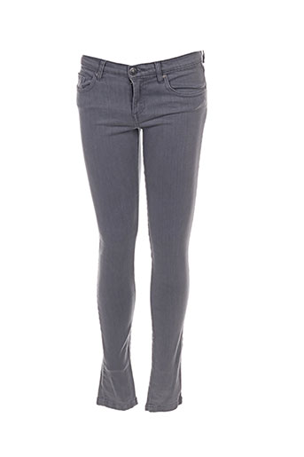Pantalon casual gris BELAIR pour femme