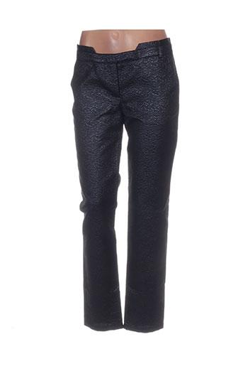 Pantalon casual noir BY ZOE pour femme