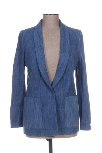 Veste en jean bleu BELAIR pour femme