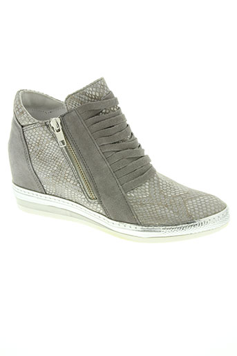 khrio chaussures femme de couleur gris