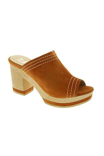 gadea chaussures femme de couleur orange