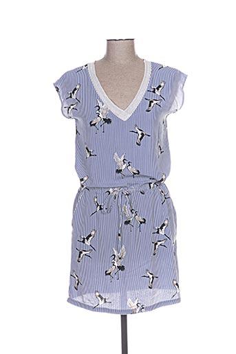 it hippie robes femme de couleur bleu