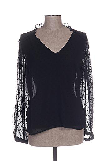 kilky chemises femme de couleur noir