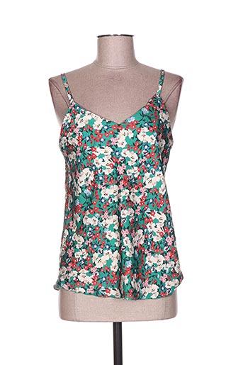new collection chemises femme de couleur vert