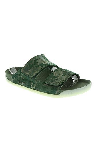payukan chaussures femme de couleur vert