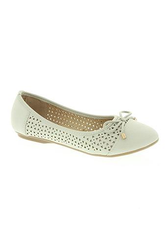 elue par nous chaussures femme de couleur gris