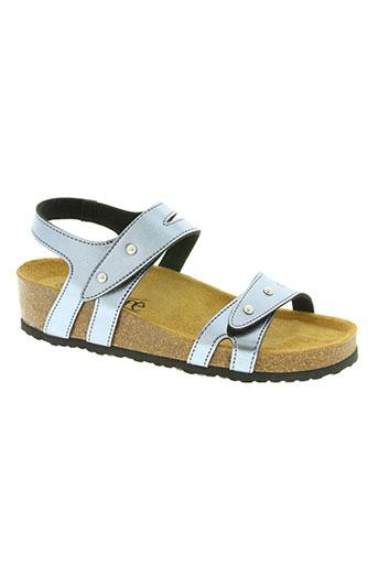 santafe chaussures femme de couleur gris