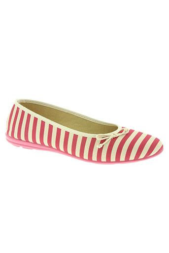 soir et matin chaussures femme de couleur rose