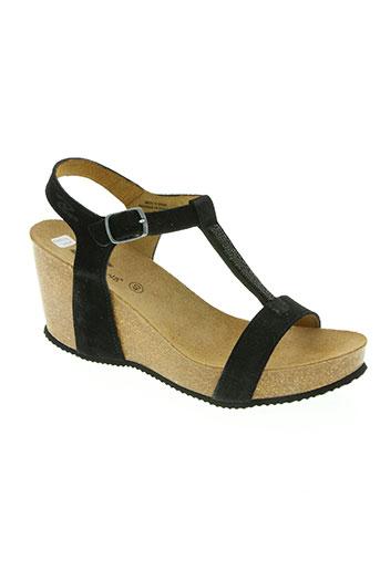 reqins chaussures femme de couleur noir