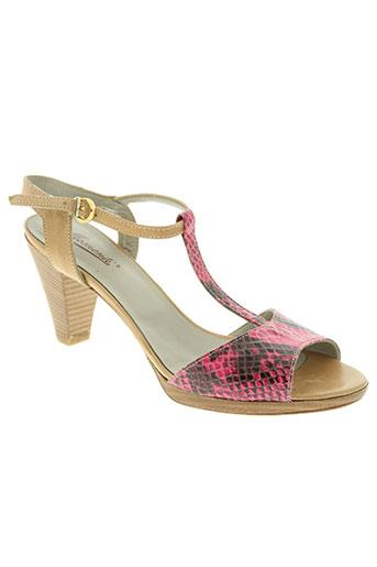 momenti chaussures femme de couleur rose
