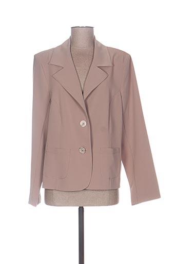 Veste chic / Blazer beige GRIFFON pour femme