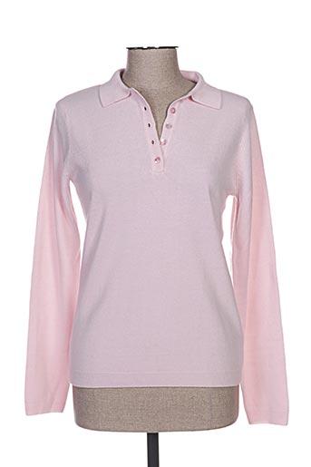 cashmere feeling t-shirts femme de couleur rose