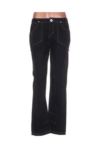 r867 jeans femme de couleur noir