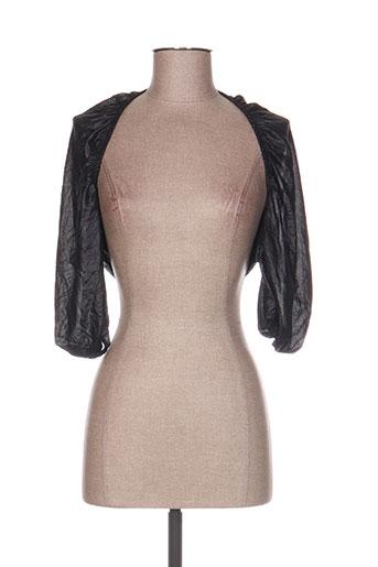 qubha vestes femme de couleur noir