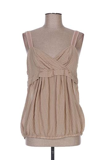 la manufacture 8 linvingstone chemises femme de couleur beige