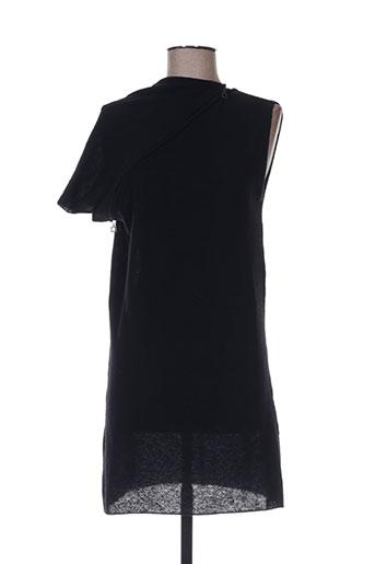 sarah pacini robes femme de couleur noir