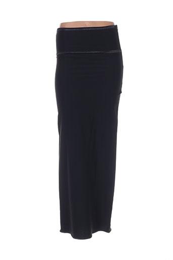 angora jupes femme de couleur noir