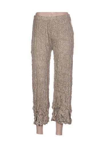 Pantalon 7/8 vert G!OZE pour femme