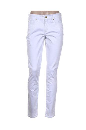 nydj jeans femme de couleur blanc