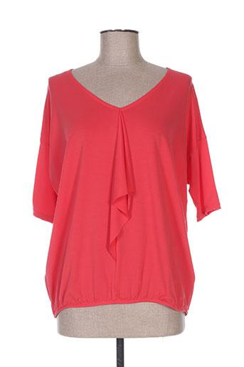 summum chemises femme de couleur rouge