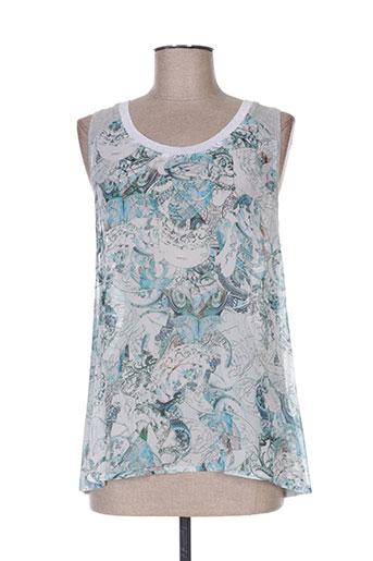 eva kayan chemises femme de couleur bleu
