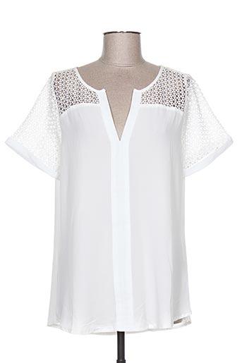 akoz de toi chemises femme de couleur blanc