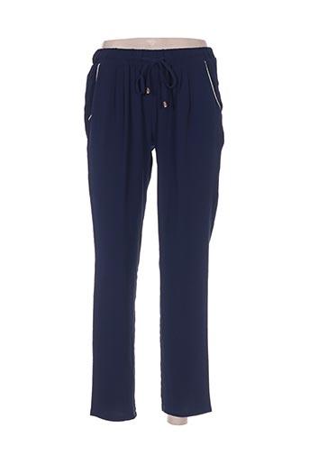 noemie EFFI_CHAR_1 co pantalons femme de couleur bleu