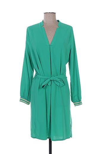 purple's robes femme de couleur vert