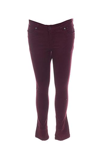 Pantalon casual rouge CAMPS UNITED pour fille