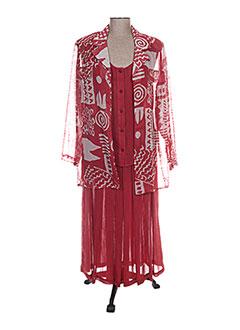 Veste/jupe rouge BRIGITTE SAGET pour femme