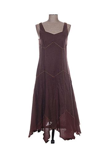 canat robes femme de couleur marron