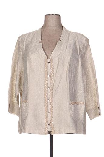 quattro vestes femme de couleur beige