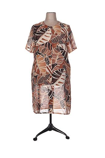 lewinger vestes femme de couleur marron