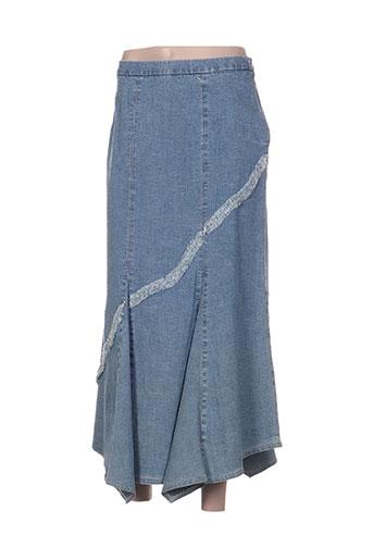 rosa rosam jupes femme de couleur bleu