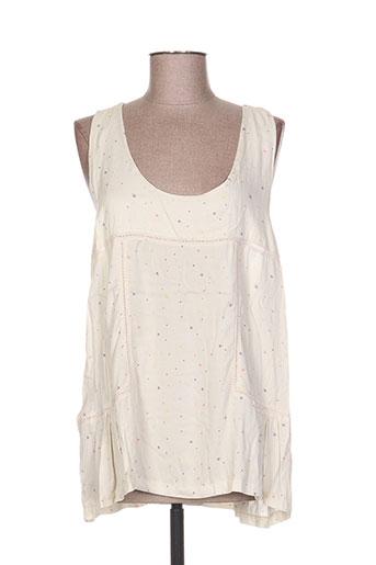 cozete t-shirts femme de couleur beige