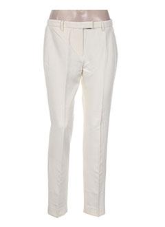 Pantalon chic beige NICE THINGS pour femme