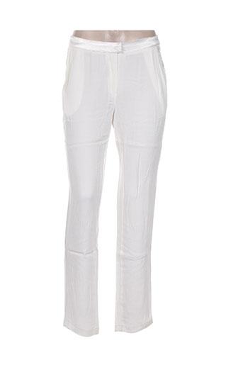 la petite francaise pantalons femme de couleur beige