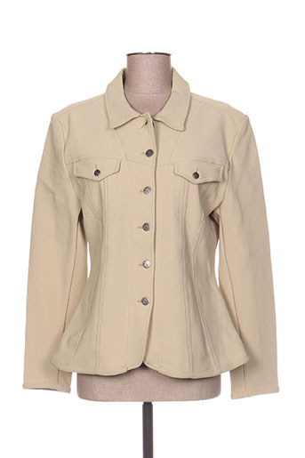 Veste casual beige CORONADO U.S NAVY pour femme