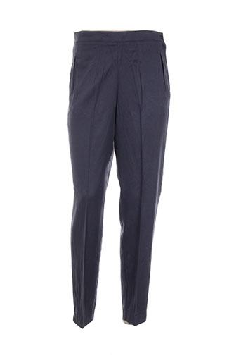 Pantalon casual gris DIFFERENTIEL pour femme