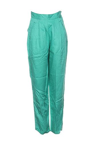buffalo pantalons femme de couleur vert