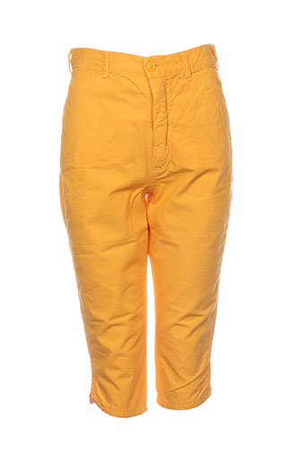 goldie pantacourts femme de couleur jaune