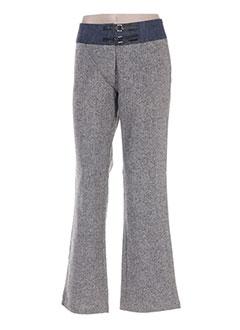Pantalon casual gris KILIWATCH pour femme