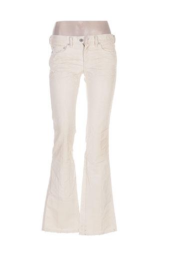 diesel jeans femme de couleur beige