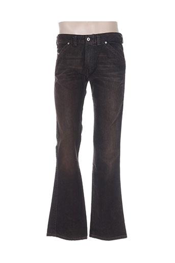 diesel jeans homme de couleur marron