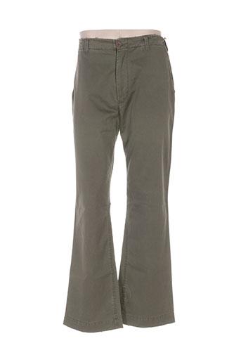 Pantalon casual vert BB LONDON pour homme